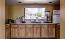 Cedar City Vagabond Inn Breakfast Area