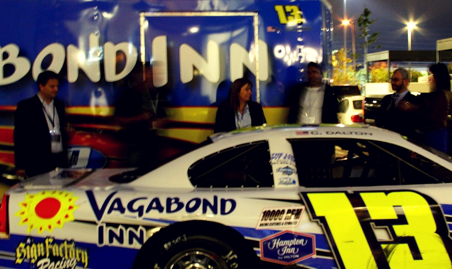 Vagabond Inn Race Car