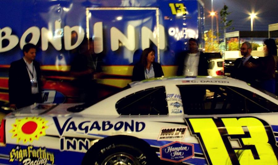 Vagabond Inn Race Car