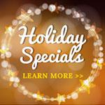 California Holiday Events & Specials