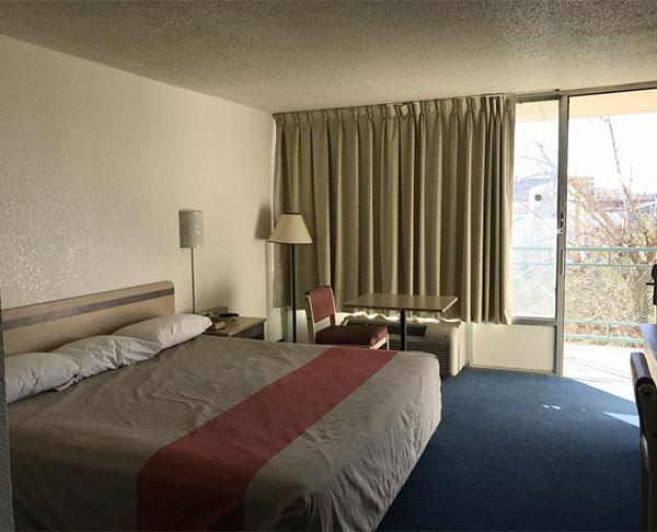 El Paso Single King Room