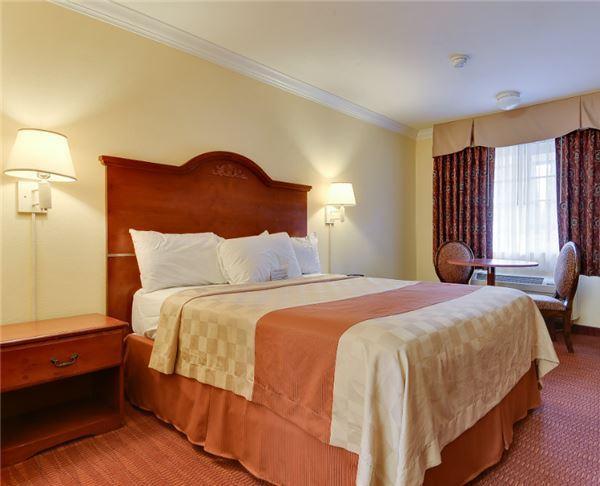 Vagabond Inn - San Jose Queen Bed