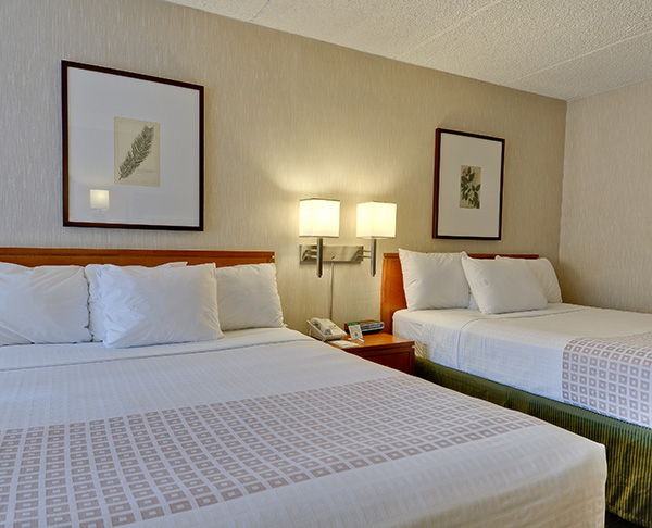 Vagabond Inn Executive - Sacramento (Old Town) N/S Two Queen Beds