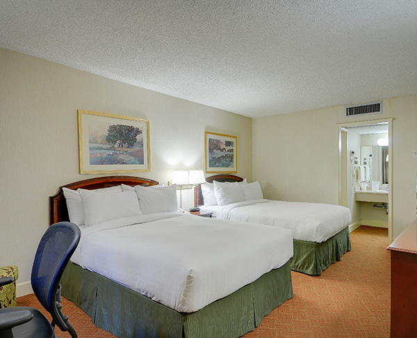 Vagabond Inn Executive - San Francisco Airport Bayfront (SFO) Two Queen Beds