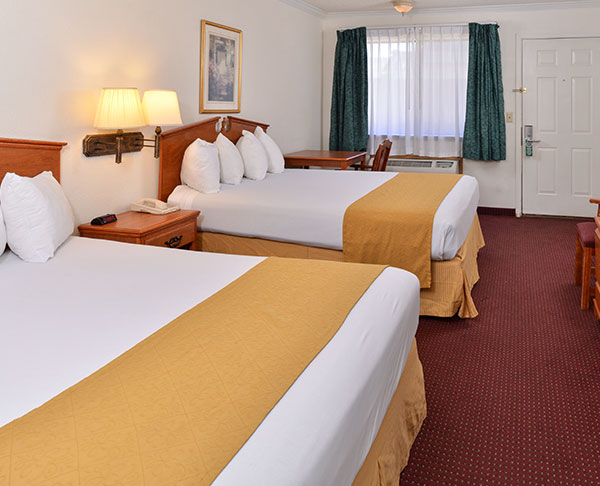 Vagabond Inn - Klamath Falls N/S Two Queen Beds