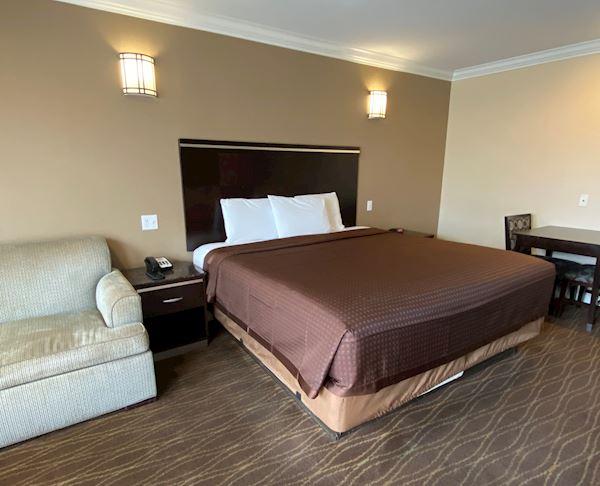 King Room with Kitchenette at Vagabond Inn - La Habra