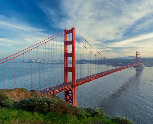 Burlingame - Golden Gate Bridge