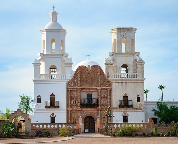 Green Valley - San Xavier del Bac Mission