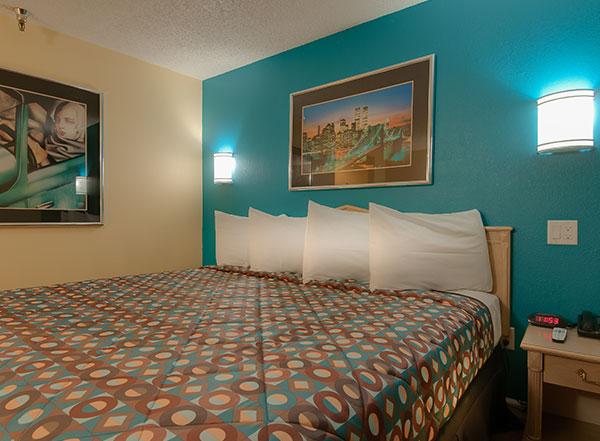 Vagabond Inn - Bakersfield (South) Rooms