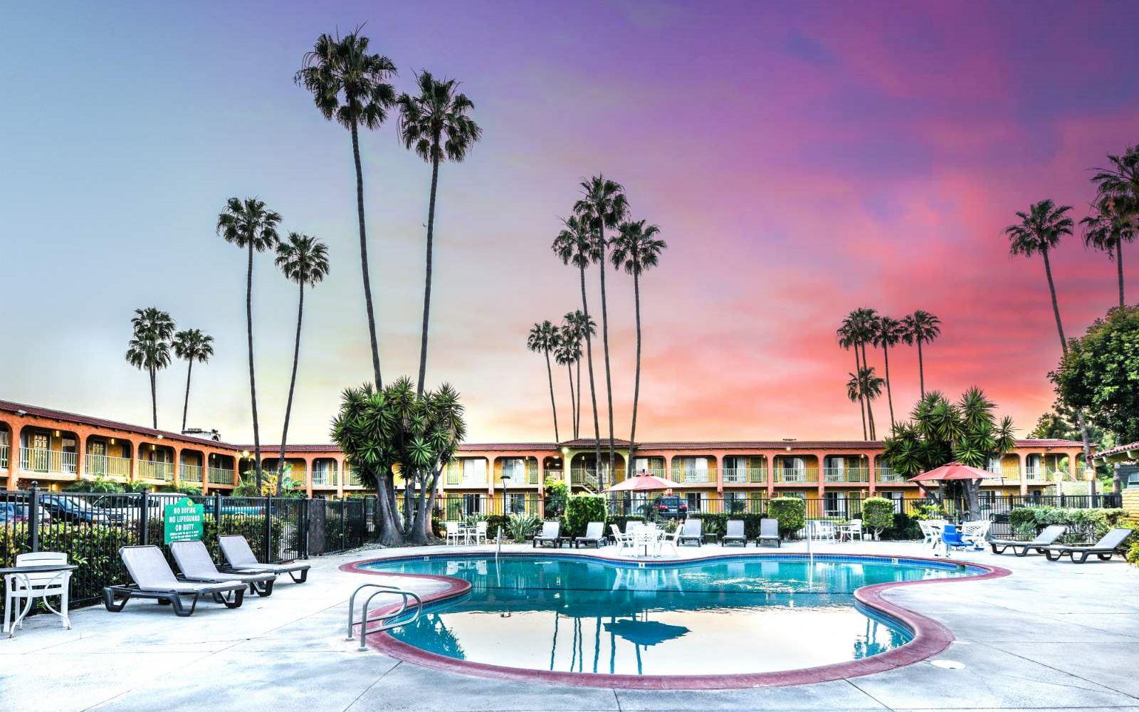 Costa Mesa Ca Hotel Vagabond Inn Costa Mesa