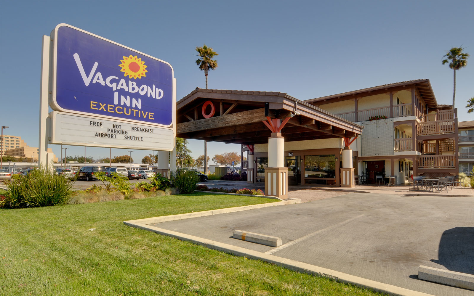 Burlingame CA Hotel - Vagabond Inn San Francisco Airport