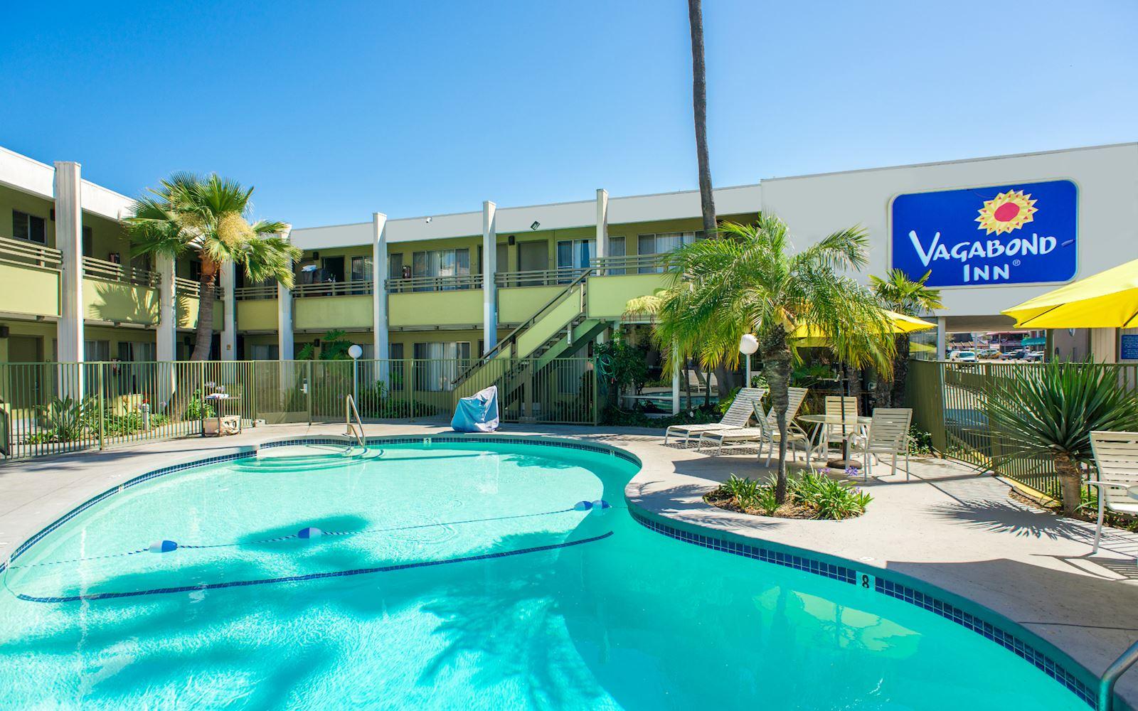 Hotels In San Diego >> San Diego Airport Hotel Directions Vagabond Inn
