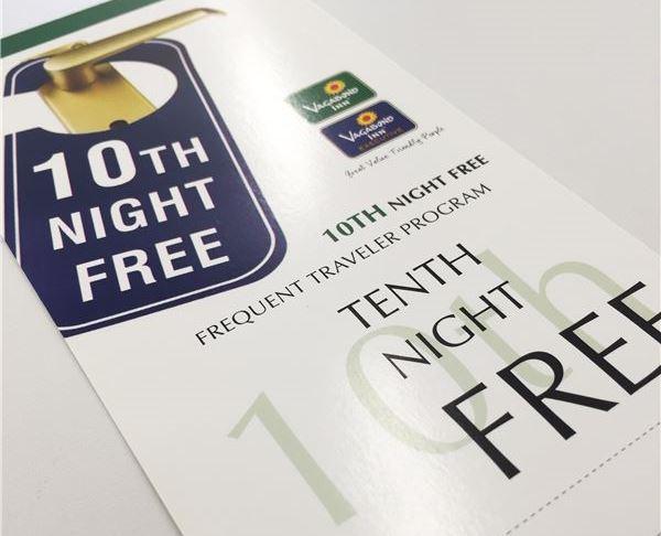 Vagabond Inn Hotels 10th Night Free Card at El Segundo